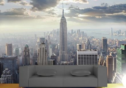 New York sunrise giant wallpaper
